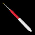 Крючок вязальный, экстратонкий, сталь, №0,5, 13 см