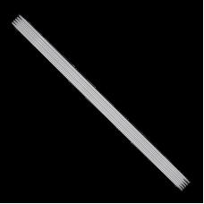 Спицы, чулочные из никелированной стали, №1,5, 20 см. 5 шт