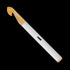 Крючок вязальный, плаcтик №12, 15 см