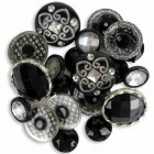 Пуговицы Button Artist Accents Black