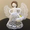 Ангелочек с корзиночкой