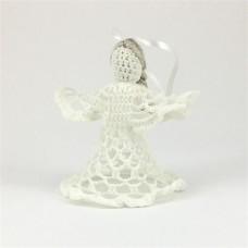 Вязанная игрушка Ангел