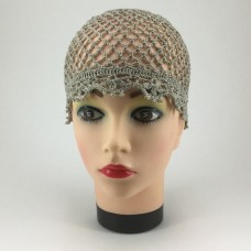 Летняя шапочка из льна