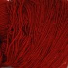 Dark Red On White wool 8/1, однотонная