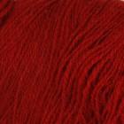 Dark Red On White wool 8/2, однотонная