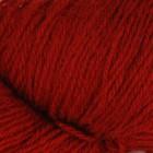 Dark Red On White wool 8/3, однотонная