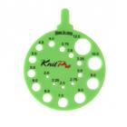 Линейка круглая для определения номера спиц, KnitPro